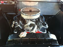 Engine we built and put in 327 block bored out .3