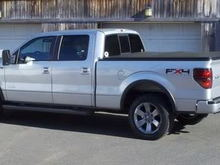 2011 FX4 Ecoboost and 2012 travel trailer