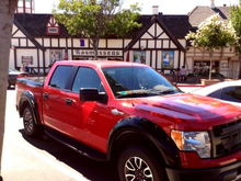 Solvang prior to Raptor mod.