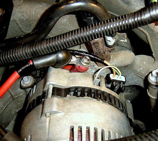 2003 F150 Battery Indicator On