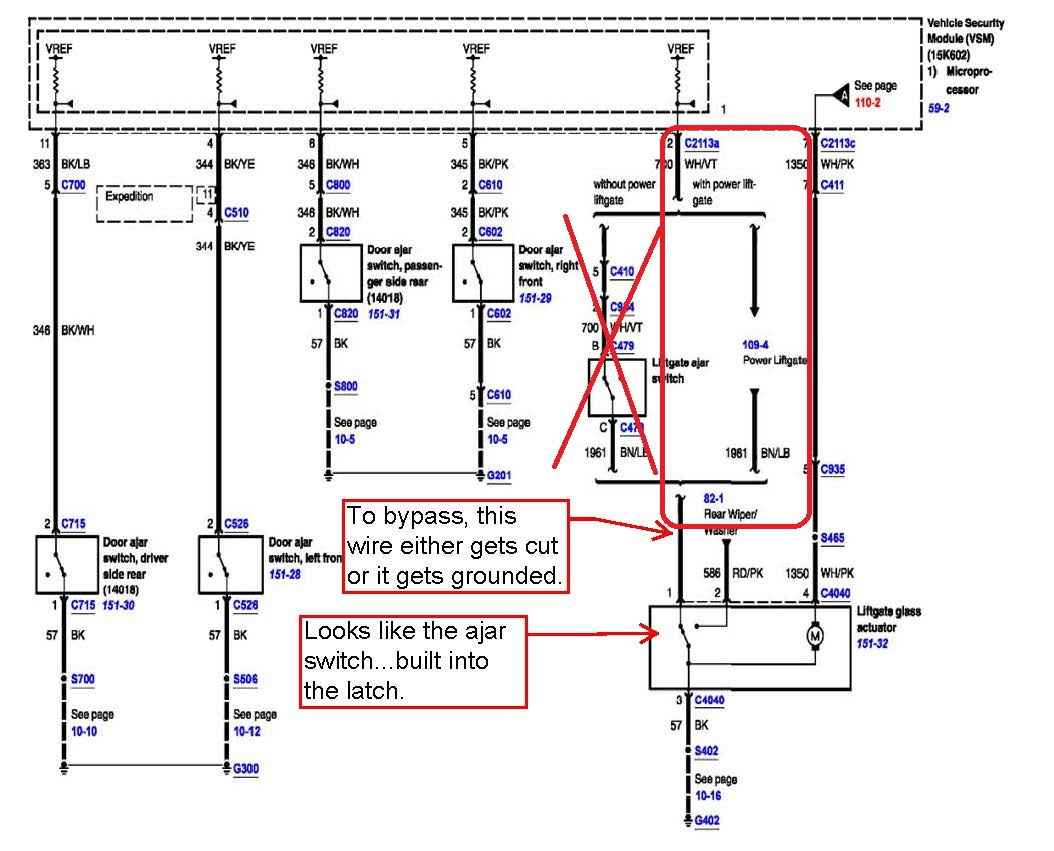 Bypass Liftgate Ajar Switch  - Page 3
