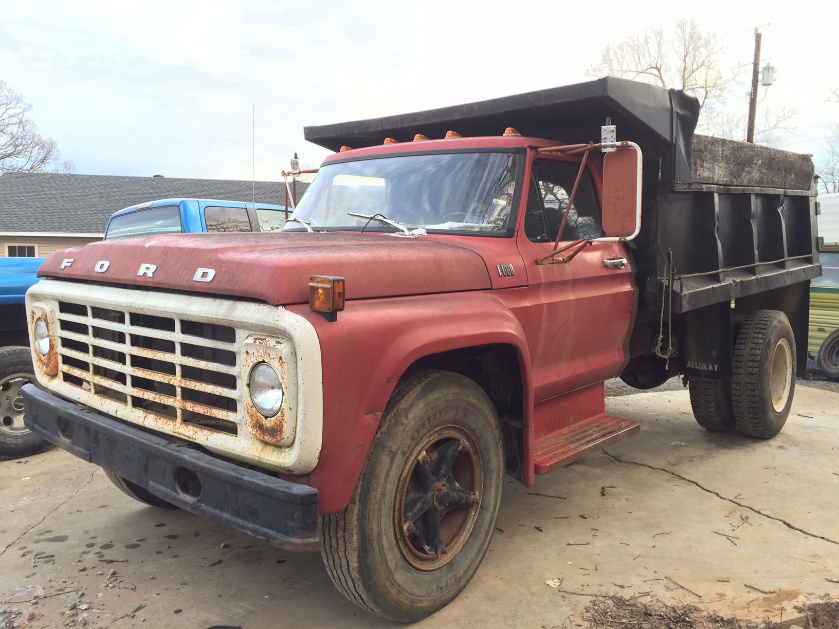 1975 F700 Dump Truck Gvwr Ford Truck Enthusiasts Forums
