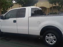 My White 04 F150