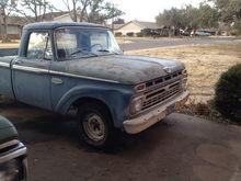 My 66 F100 Ol' Blue