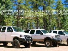 Kingdom Flight 4x4's