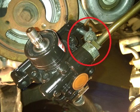 Performing An Alignment On Ford F 150 And Lincoln Mark Lt Vehicles additionally Check Power Steering Fluid Ford Escape 2008 also 2004 Pontiac Grand Am Cigarette Lighter Fuse moreover Power Steering Reservoir Location 2007 Rav4 further Watch. on 2003 ford f150 power steering pump