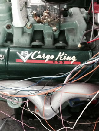 Had the old valve cover decals redone... Nice!