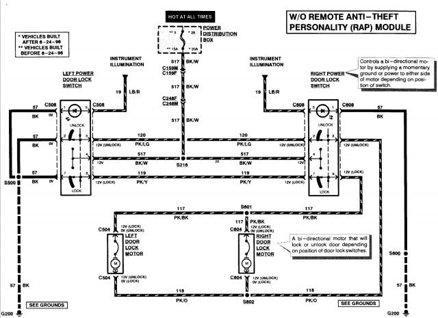 door lock wiring diagram chevy 1996 2001 f350 door lock wiring diagram 2003 ford f150 supercrew door locks will unlock but will ...