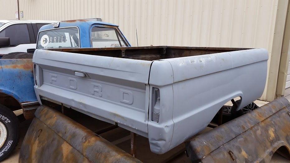 1955 Ford F100 Restoration Project For Sale.html   Autos Weblog