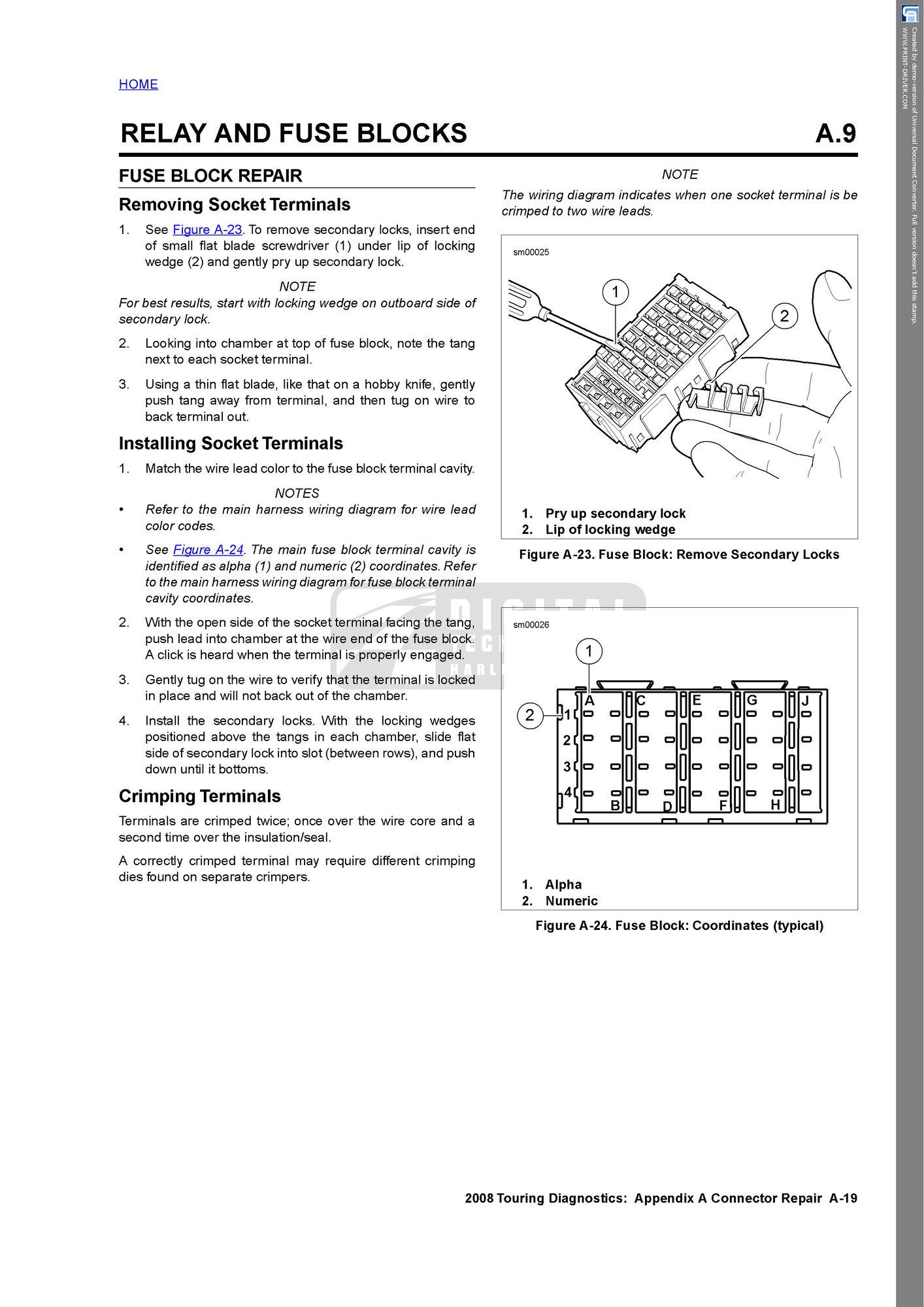 electrical manual genius page 2 harley davidson forums Car Electrical Diagnostics Richardson Diagnostics for All
