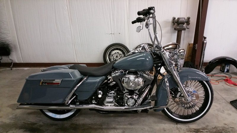 2001 road king price