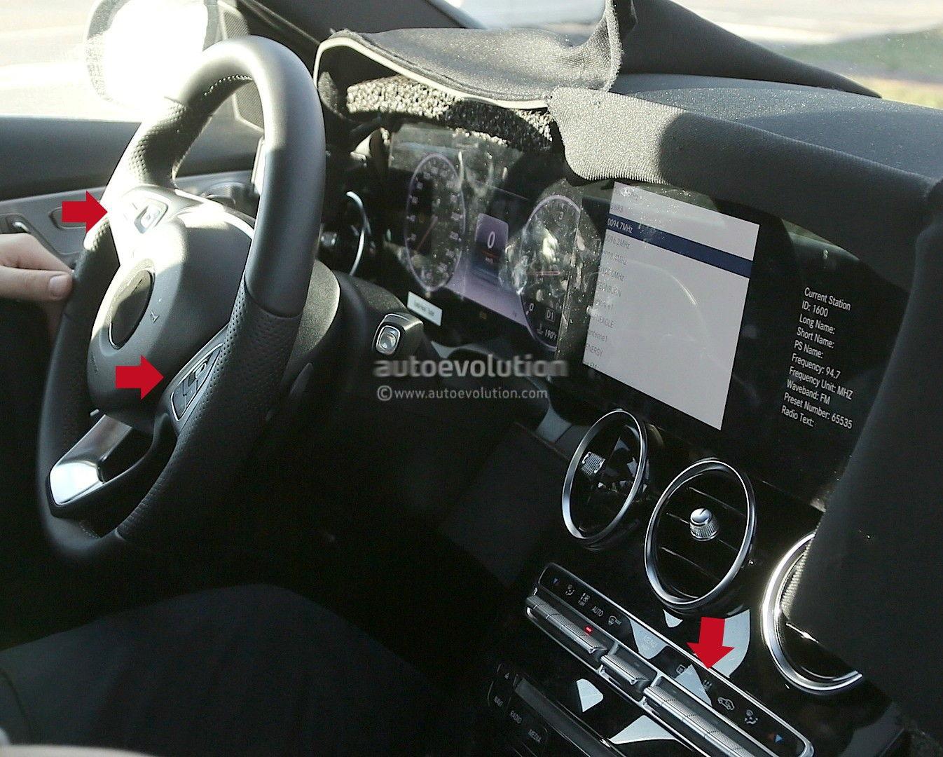 2018 Mercedes C Class Facelift Interior Spyshots Mbworld