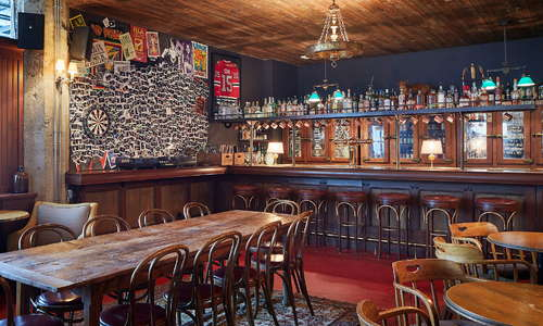 Bar público de Soho House Chicago, Fox Bar