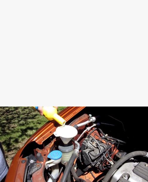 Acura MDX How To Change Power Steering Fluid