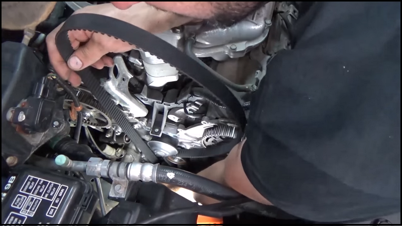 Acura TL To And MDX How To Replace Timing Belt And Water - Acura mdx timing belt