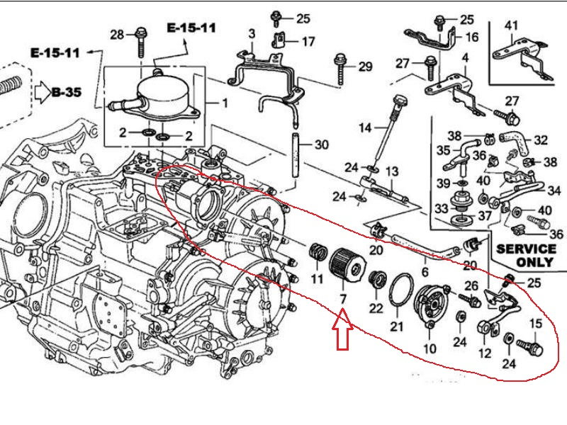 Acura Tl 2009 2014 Transmission Diagnostic Guide 424167 on ford v6 3 7 engine diagram