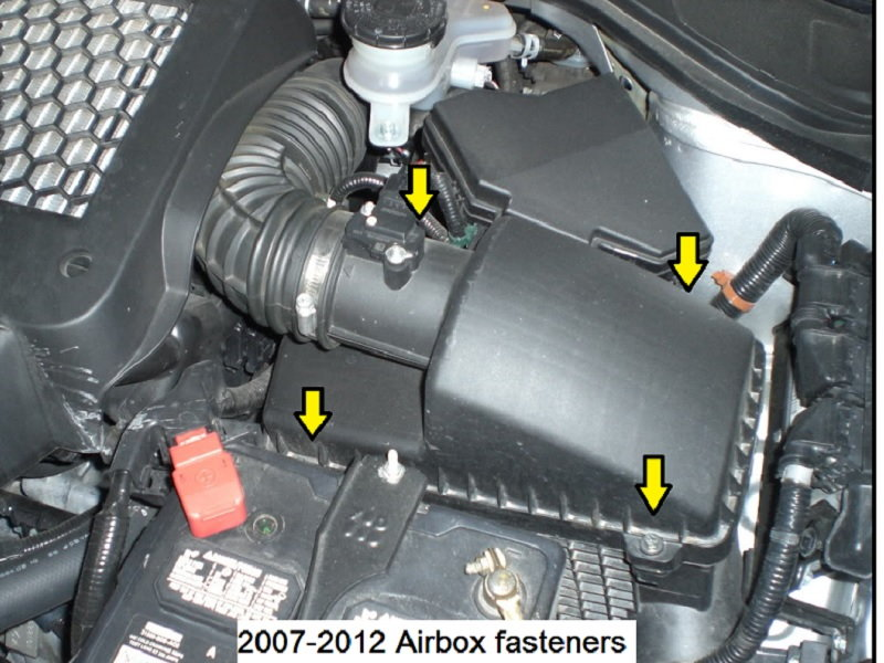 Acura RDX How To Replace Air Filter Acurazine - Acura mdx air filter