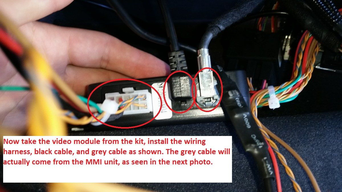 on backup camera wiring diagram audi q5 2016