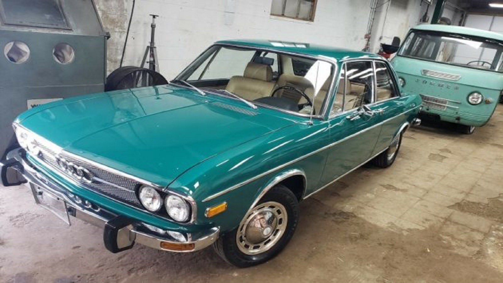 How much was this Audi 100 listed for and what made it so rare?