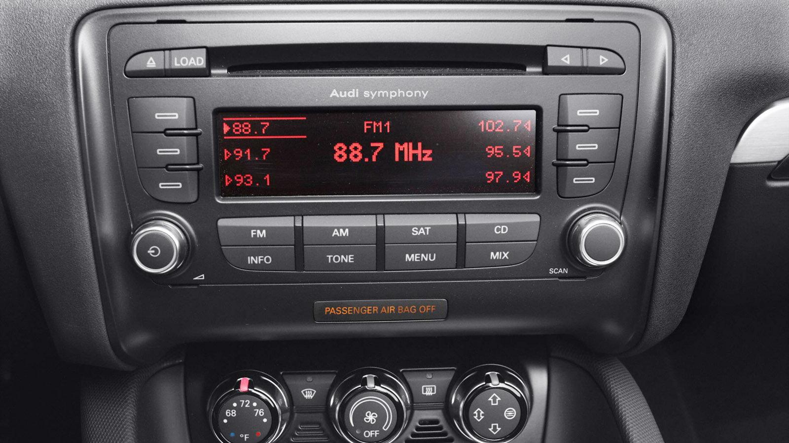 Audi Symphony 3 Radio Manual Integral Audio Mini Cooper Amplfier Speaker Wiring Harness R55 R56 R57 Concert Iii Array 7 Easter Eggs And Hidden Features Audiworld Rh Com