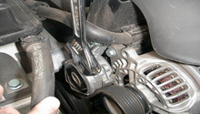 Audi A6 C6 How to Replace Serpentine Belt - Audiworld Audi A Tensioner Serpentine on audi axle, audi motor, audi oil cooler, audi transmission, audi oil filter, audi cap, audi seat, audi exhaust,