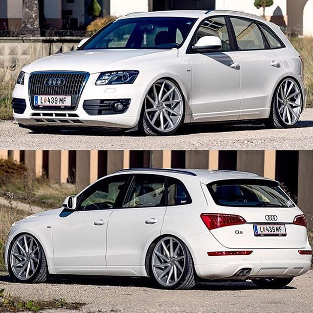 Audi q5 suspension modifications audiworld audi q5 slammed on air suspension sciox Gallery