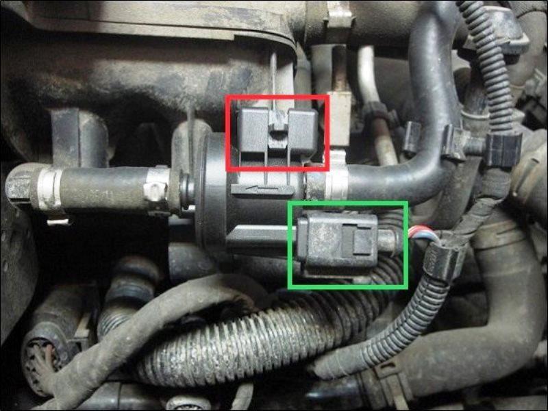 Audi A4 B7 How to Replace EVAP Purge N80 Valve Audiworld