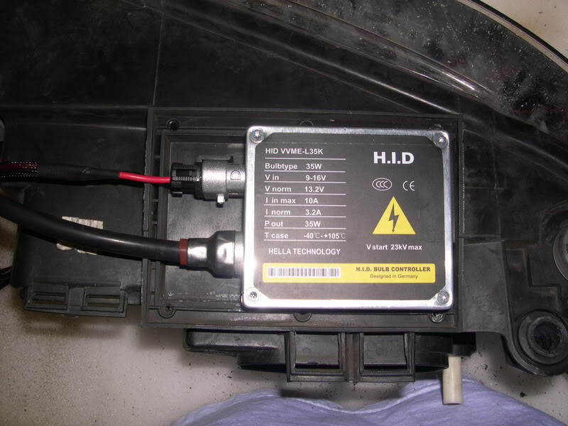Mount your ballasts somewhere secure