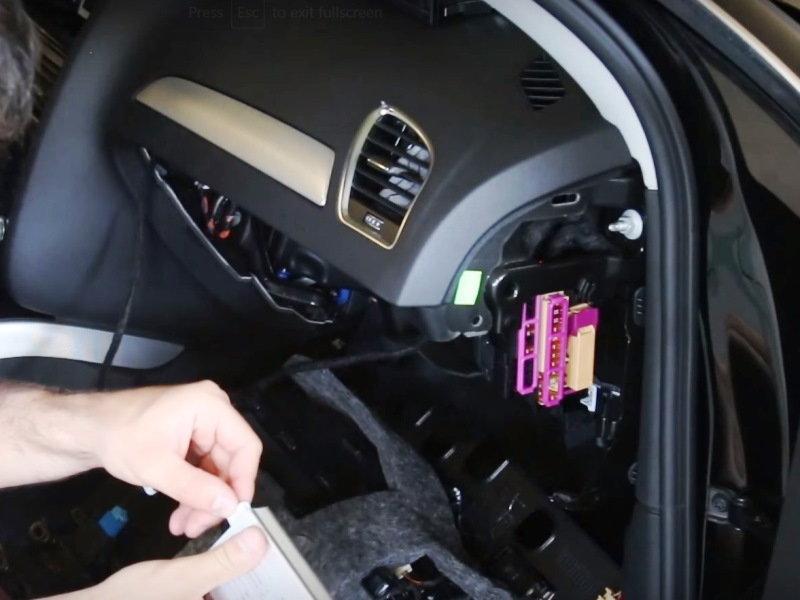 Audi Q5 And Q7 How To Install A Backup Camera Audiworld