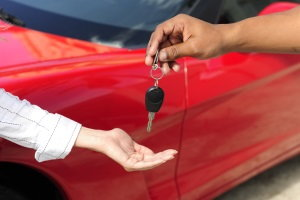 trade-in, buy a car