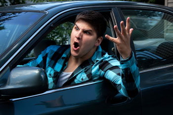 what causes road rage