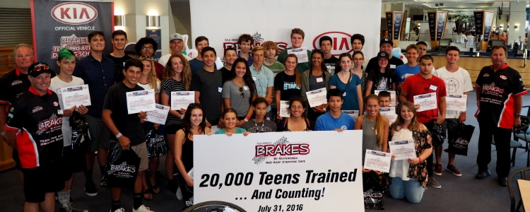 B.R.A.K.E.S. Reaches Milestone in Promoting Teen Driving Safety