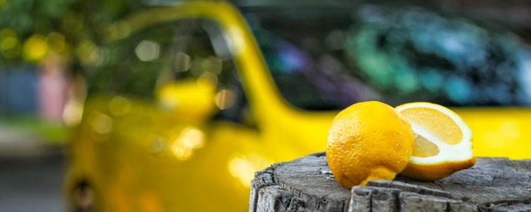 Cómo salir de un auto limón