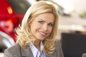car salesperson, car saleswoman