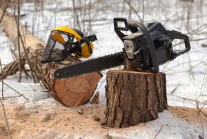 winter power saw