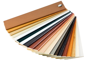 variety of laminate samples