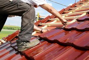Roof installation.