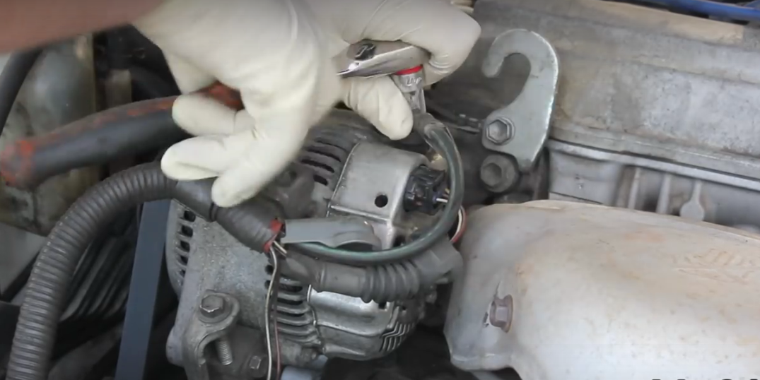 how to disconnect alternator wiring harness   43 wiring