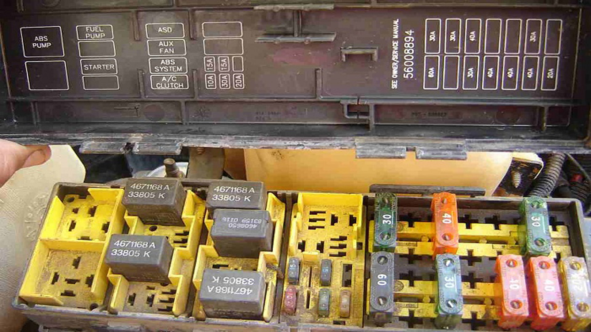 Jeep Grand Cherokee 1999-2004: Fuse Box Diagram ...