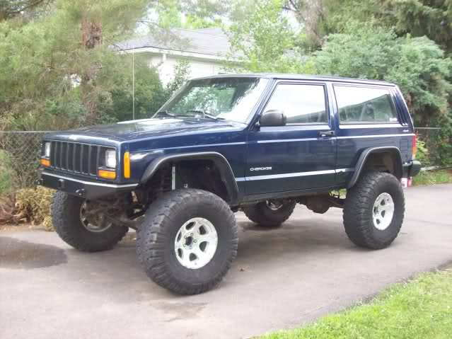 Jeep Cherokee XJ 1997 to 2001 Fender Flare Modifications