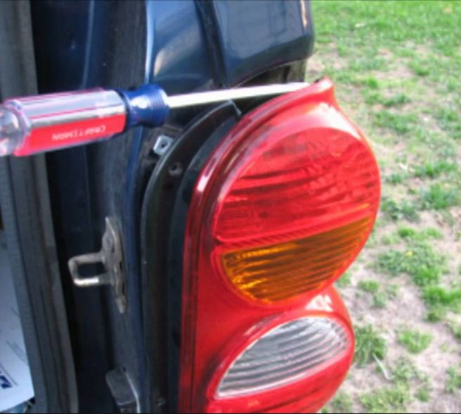 Start By Removing Your Brake Light Covers And Then The Bulbs