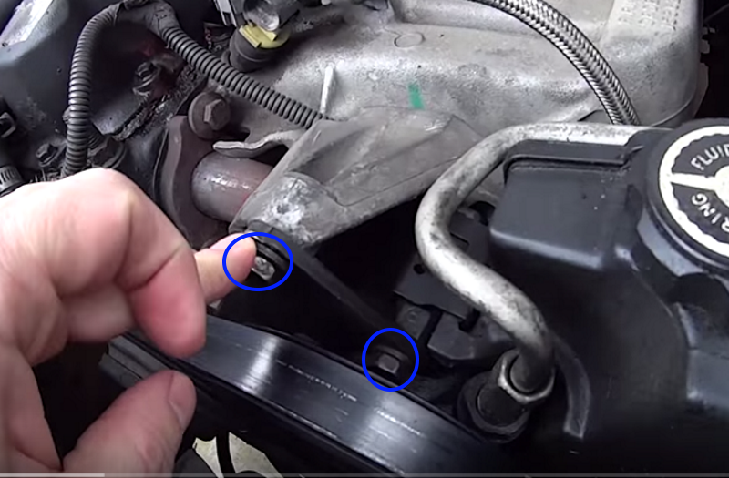 Jeep Grand Cherokee Zj 1993 To 1998 How To Replace Serpentine Belt Cherokeeforum