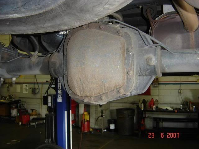 Chevrolet Silverado GMT800 GMT900 K2XX Axle Ratio on