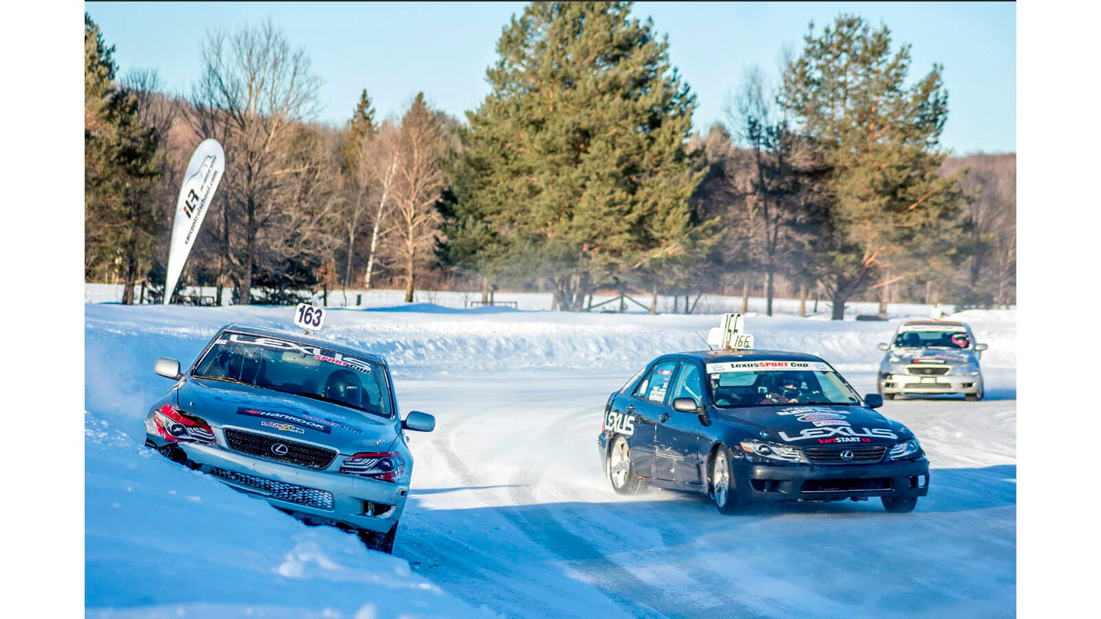 Because Ice Racing is Totally a Lexus Thing