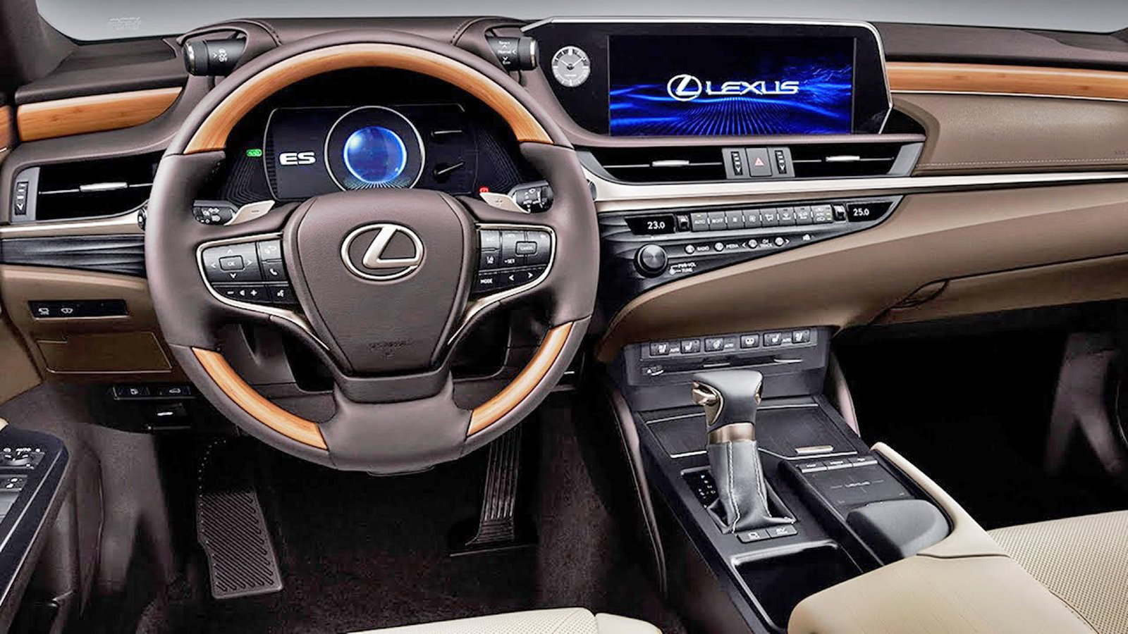 What to Expect from the 2019 Lexus ES