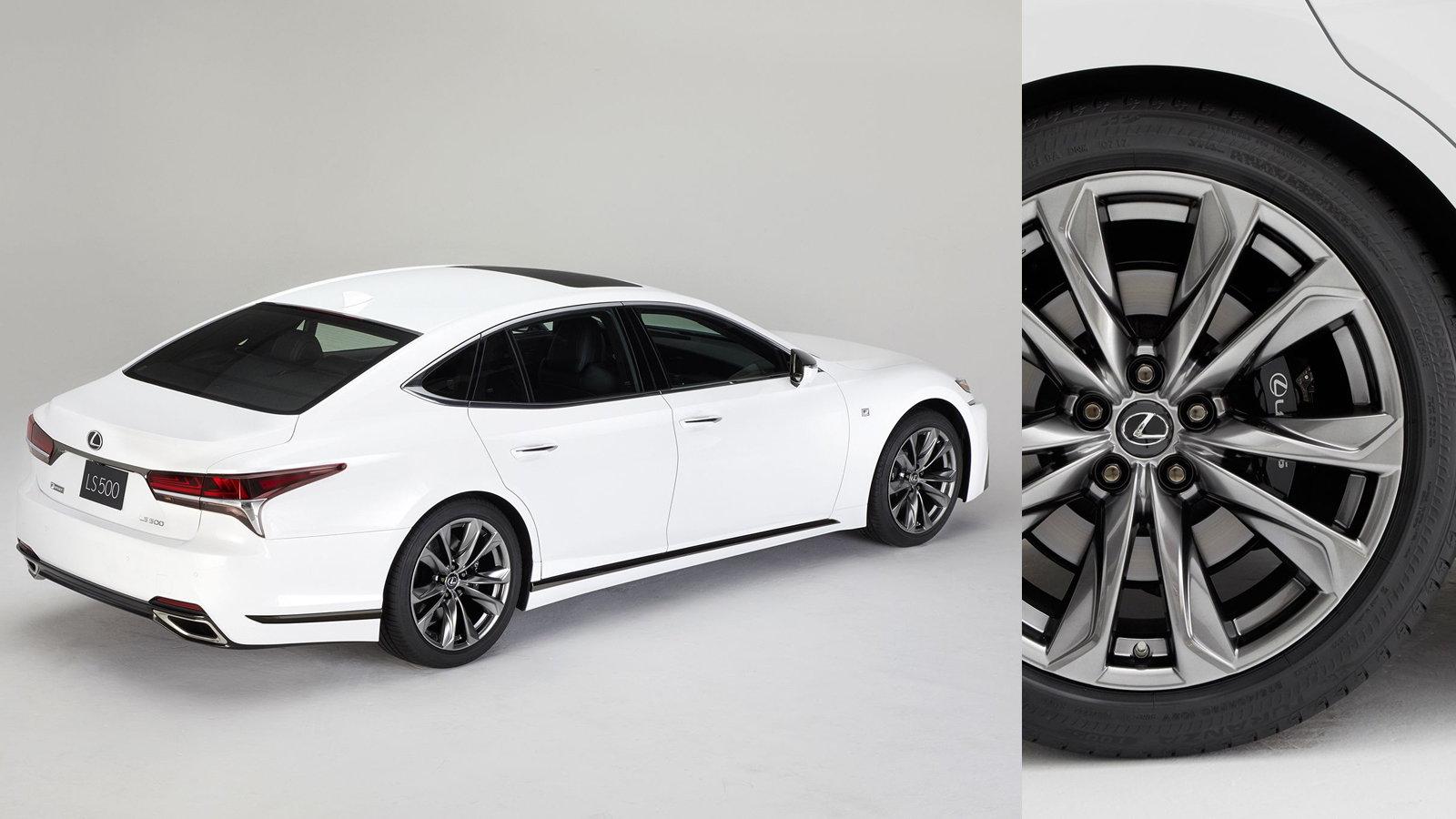 Lexus Unveils F Sport Line for LS 500