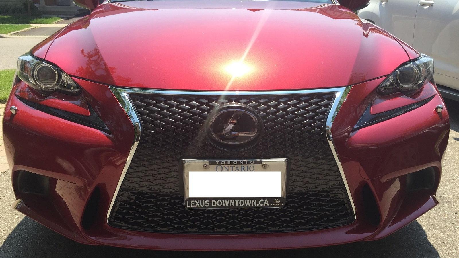 Lexus IS250 F-Sport Undergoes Total Transformation