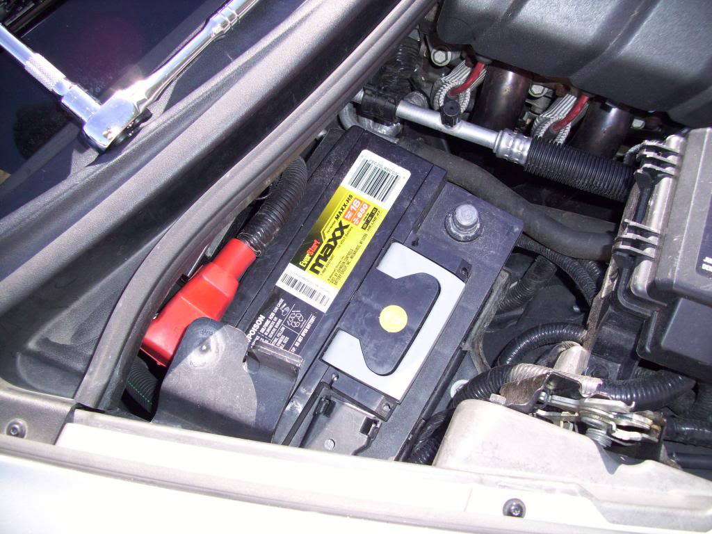 C5 C6 Corvette How To Install Bluetooth Kit Corvetteforum Audio Wiring Figure 1 Disconnected Negative Battery Terminal