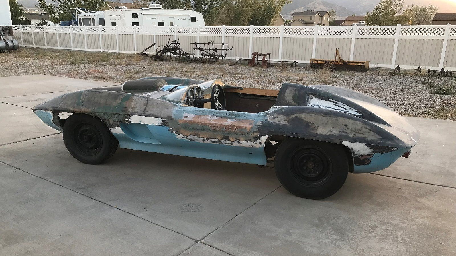 1959 Corvette XP-87 Stingray Racer Replica Is One Cool