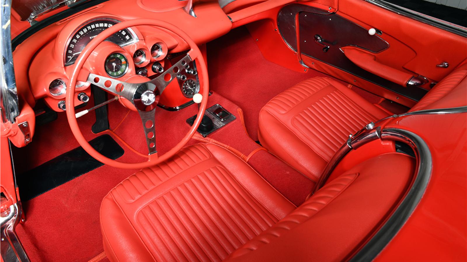Gorgeous '58 Corvette Auctioned at Barrett Jackson